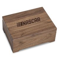 NASCAR Solid Walnut Collector's Box