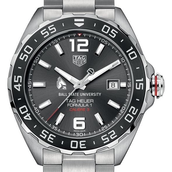 Ball State Men's TAG Heuer Formula 1 with Anthracite Dial & Bezel - Image 1