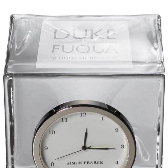 Duke Fuqua Glass Desk Clock by Simon Pearce - Image 2