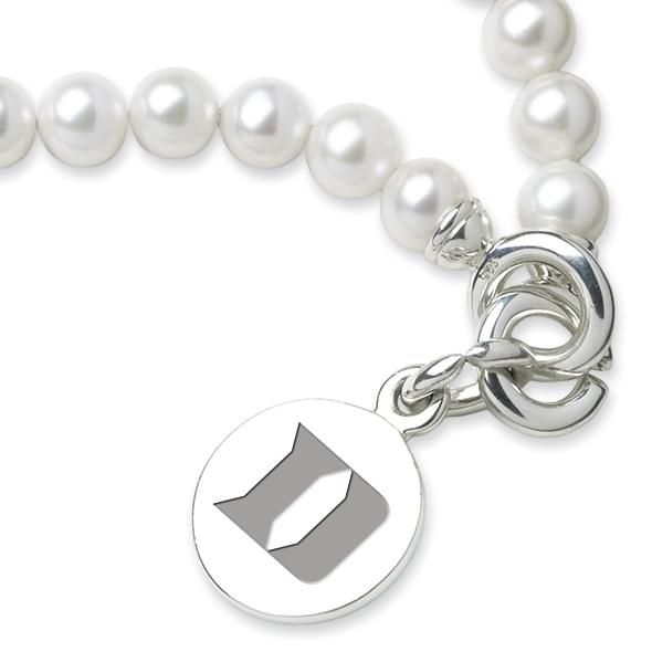 Duke Pearl Bracelet with Sterling Silver Charm - Image 2