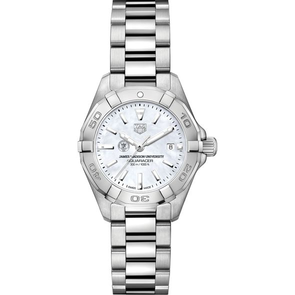 James Madison University Women's TAG Heuer Steel Aquaracer w MOP Dial - Image 2