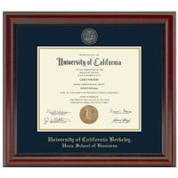 Berkeley Haas Diploma Frame, the Fidelitas