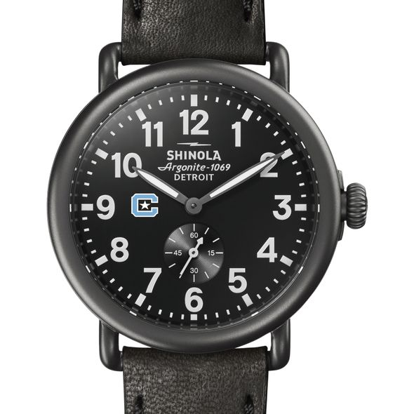 Citadel Shinola Watch, The Runwell 41mm Black Dial
