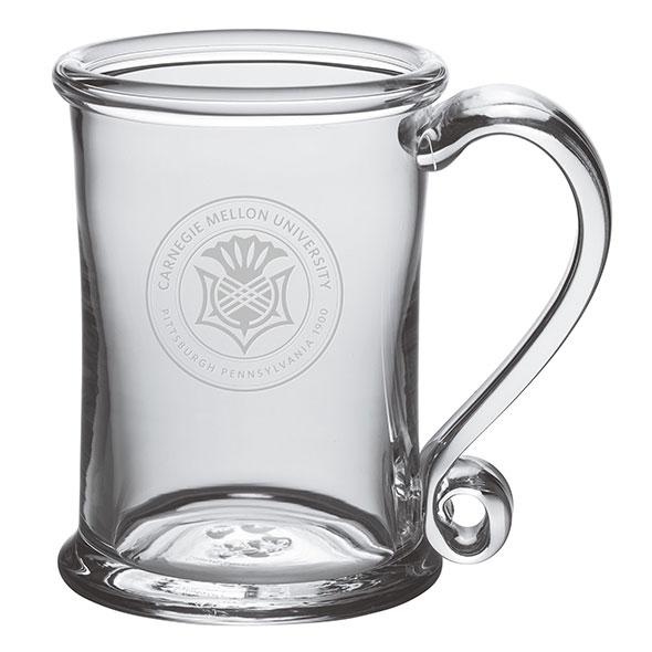 Carnegie Mellon University Glass Tankard by Simon Pearce