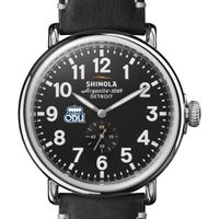 Old Dominion Shinola Watch, The Runwell 47mm Black Dial