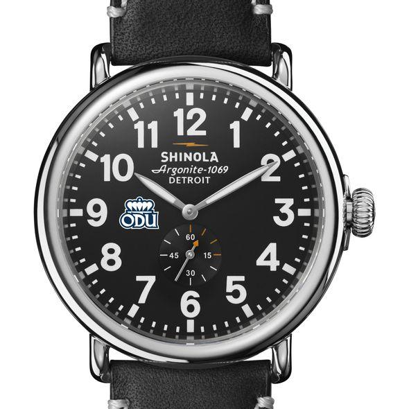 Old Dominion Shinola Watch, The Runwell 47mm Black Dial