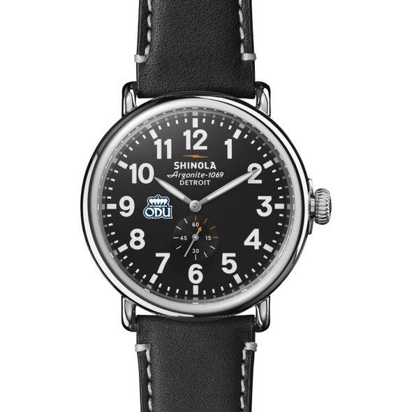Old Dominion Shinola Watch, The Runwell 47mm Black Dial - Image 2