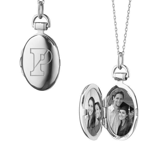 Penn Monica Rich Kosann Petite Locket in Silver - Image 2