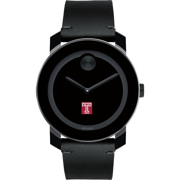 Temple Men's Movado BOLD with Leather Strap - Image 2