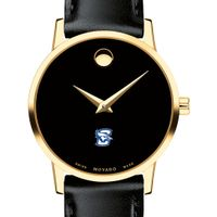 Creighton Women's Movado Gold Museum Classic Leather