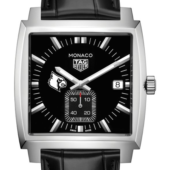University of Louisville TAG Heuer Monaco with Quartz Movement for Men