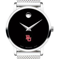 Boston University Women's Movado Museum with Mesh Bracelet