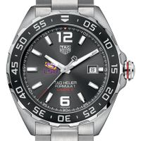 LSU Men's TAG Heuer Formula 1 with Anthracite Dial & Bezel