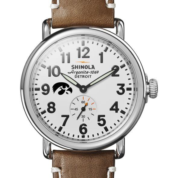 Iowa Shinola Watch, The Runwell 41mm White Dial