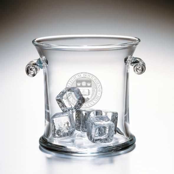 Boston College Glass Ice Bucket by Simon Pearce - Image 2