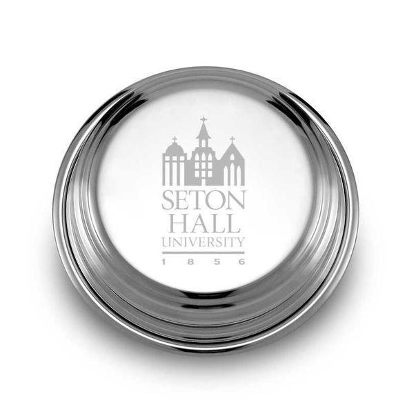 Seton Hall Pewter Paperweight - Image 1