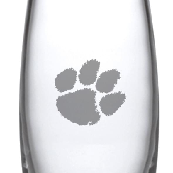 Clemson Glass Addison Vase by Simon Pearce - Image 2