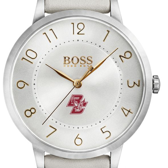 Boston College Women's BOSS White Leather from M.LaHart