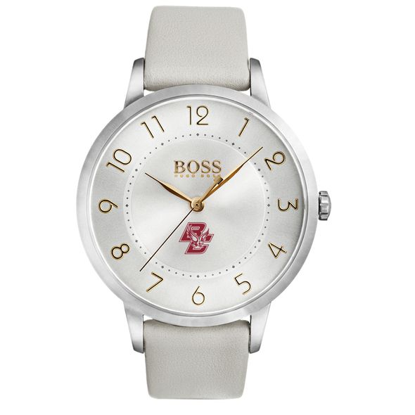 Boston College Women's BOSS White Leather from M.LaHart - Image 2