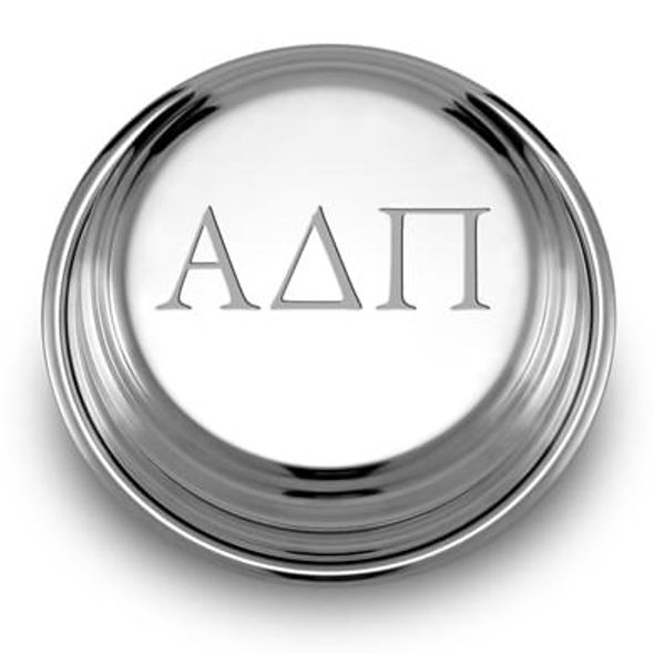 Alpha Delta Pi Pewter Paperweight