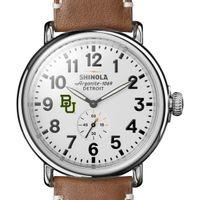 Baylor Shinola Watch, The Runwell 47mm White Dial