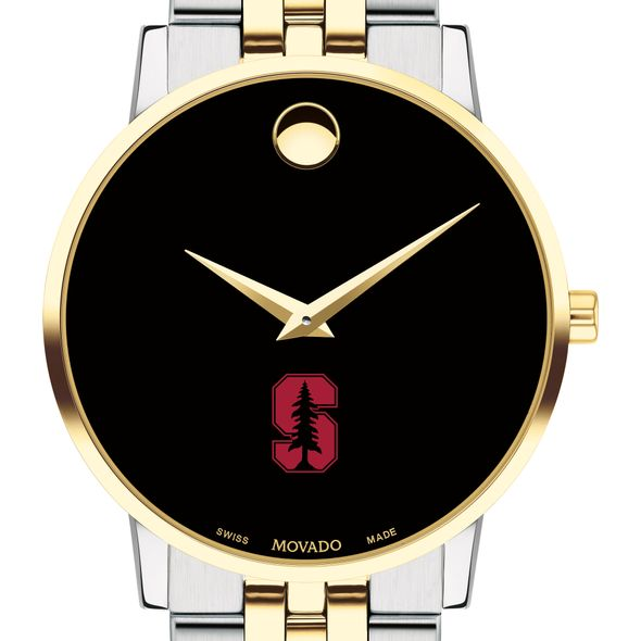 Stanford Men's Movado Two-Tone Museum Classic Bracelet