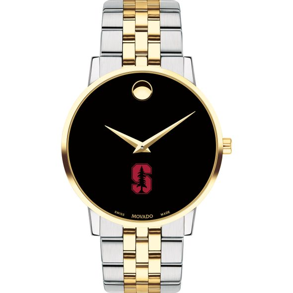 Stanford Men's Movado Two-Tone Museum Classic Bracelet - Image 2