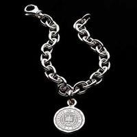 Notre Dame Sterling Silver Charm Bracelet