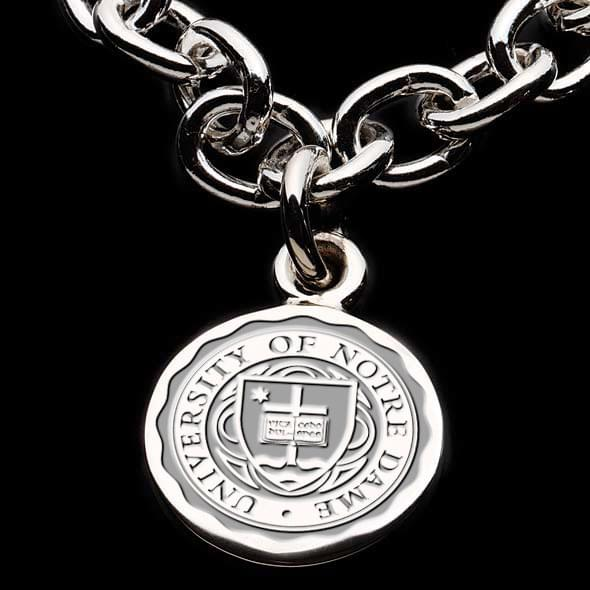 University of notre dame sterling silver charm bracelet notre dame sterling silver charm bracelet image 2 aloadofball Images