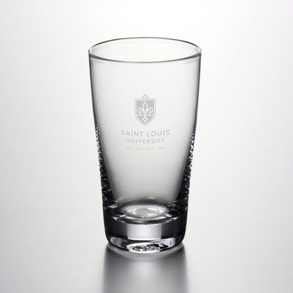 Saint Louis University Ascutney Pint Glass by Simon Pearce