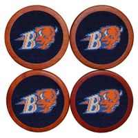 Bucknell Needlepoint Coasters