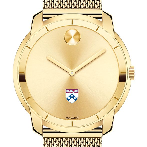 University of Pennsylvania Men's Movado Gold Bold 44