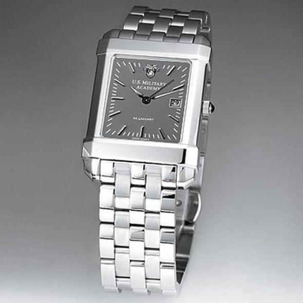 West Point Men's Gray Quad Watch with Bracelet - Image 1