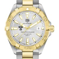 Trinity College Men's TAG Heuer Two-Tone Aquaracer