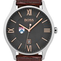 University of Pennsylvania Men's BOSS Classic with Leather Strap from M.LaHart