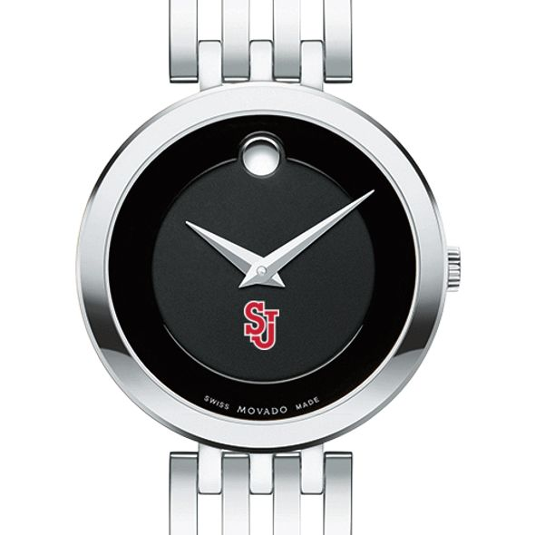 St. John's University Women's Movado Esparanza Stainless Steel Museum with Bracelet