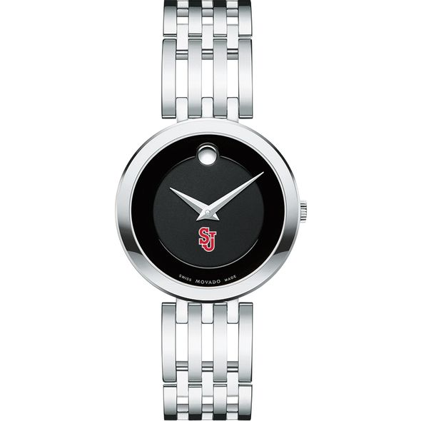 St. John's University Women's Movado Esparanza Stainless Steel Museum with Bracelet - Image 2