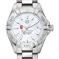 Syracuse University Women's TAG Heuer Steel Aquaracer w MOP Dial
