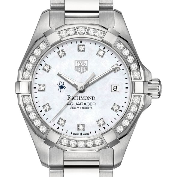 University of Richmond W's TAG Heuer Steel Aquaracer with MOP Dia Dial & Bezel