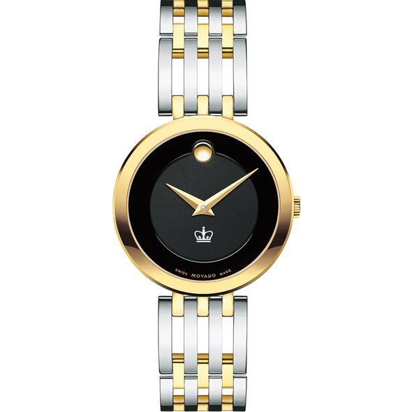 Columbia University Women's Movado Esparanza Two-Tone Museum with Bracelet - Image 2