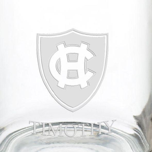 Holy Cross 13 oz Glass Coffee Mug - Image 3