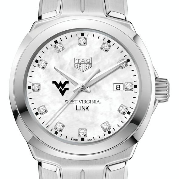 West Virginia University TAG Heuer Diamond Dial LINK for Women