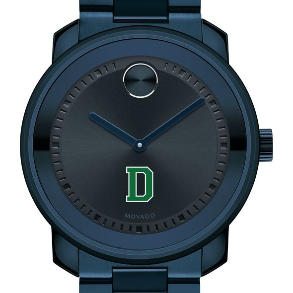 Dartmouth College Men's Movado BOLD Blue Ion with Bracelet - Image 1
