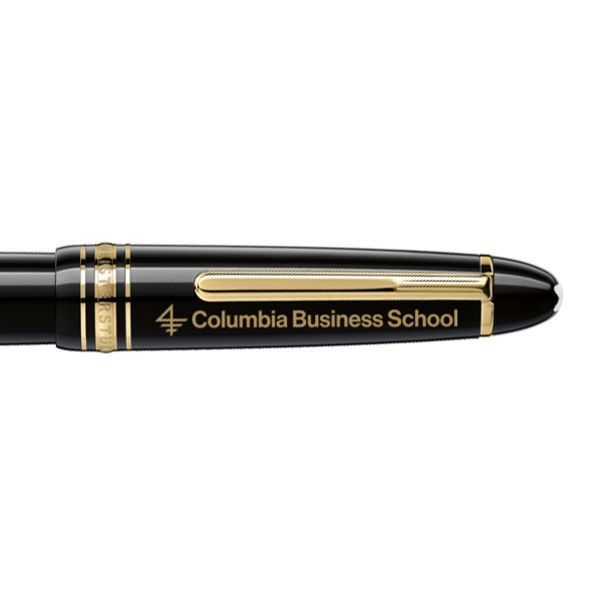Columbia Business Montblanc Meisterstück LeGrand Rollerball Pen in Gold - Image 2