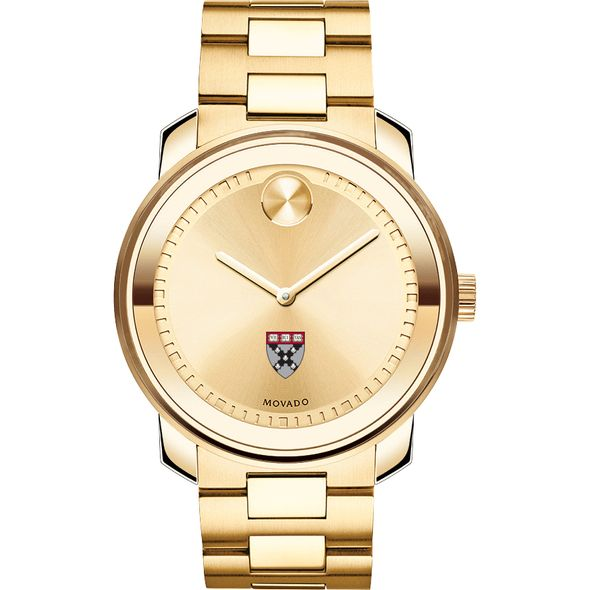 Harvard Business School Men's Movado Gold Bold - Image 2