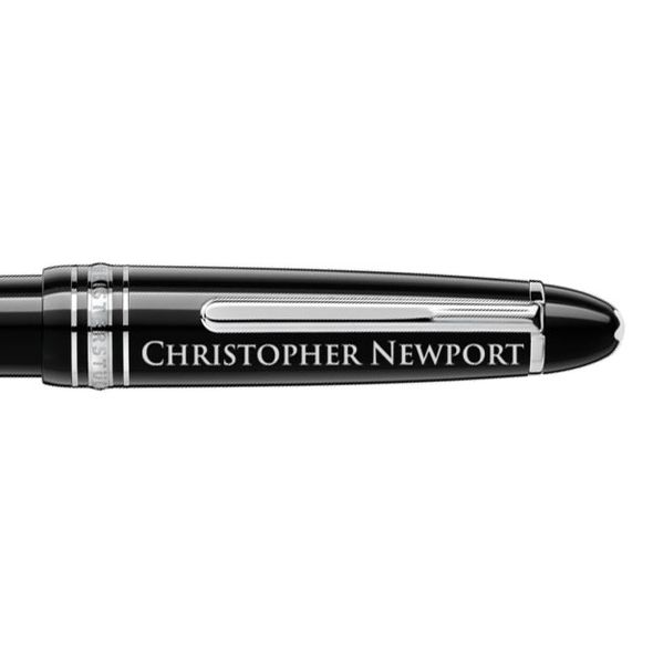 Christopher Newport University Montblanc Meisterstück LeGrand Ballpoint Pen in Platinum - Image 2