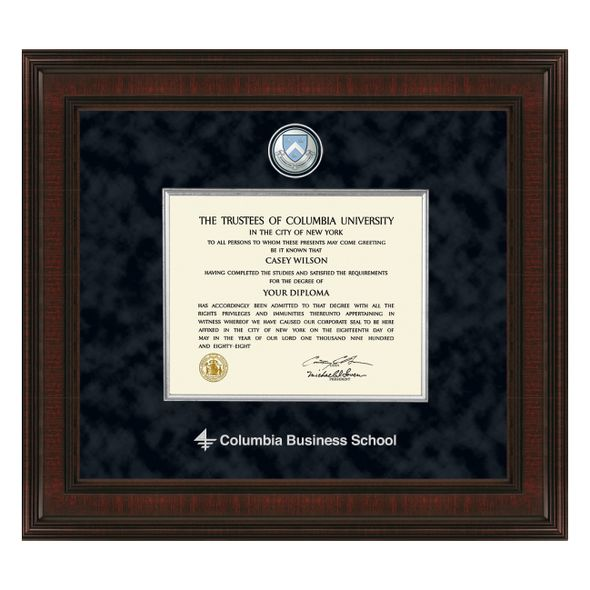 Columbia Business Diploma Frame - Excelsior