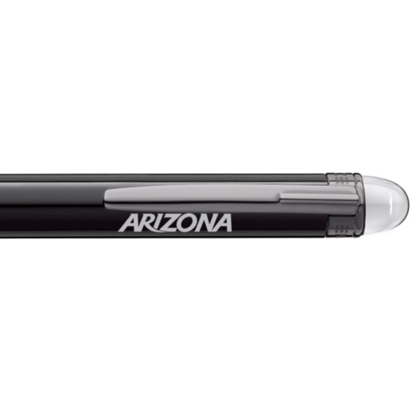 University of Arizona Montblanc StarWalker Ballpoint Pen in Ruthenium - Image 2