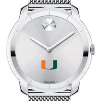 University of Miami Men's Movado Stainless Bold 44