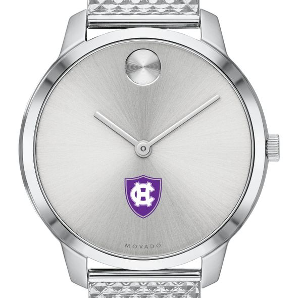 Holy Cross Women's Movado Stainless Bold 35